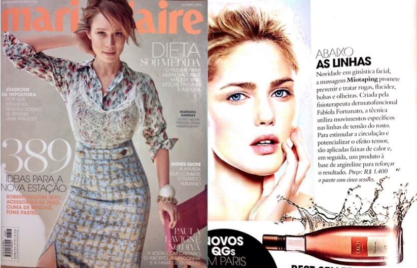 Marie Claire Miotaping